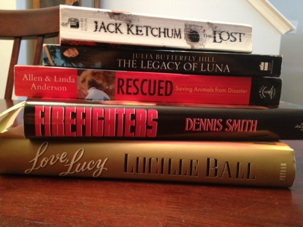 Bookstore haul... guess which ones are mine!