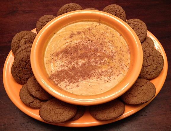pumpkin spice dip