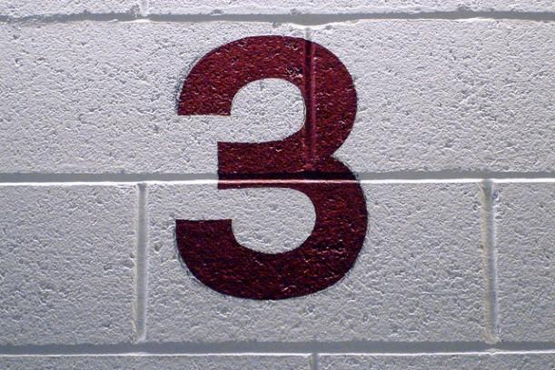 three wall